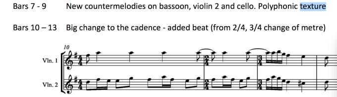Stravinsky counternelodies